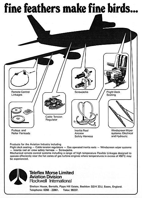 Teleflex Morse Controls & Flight Deck Seating