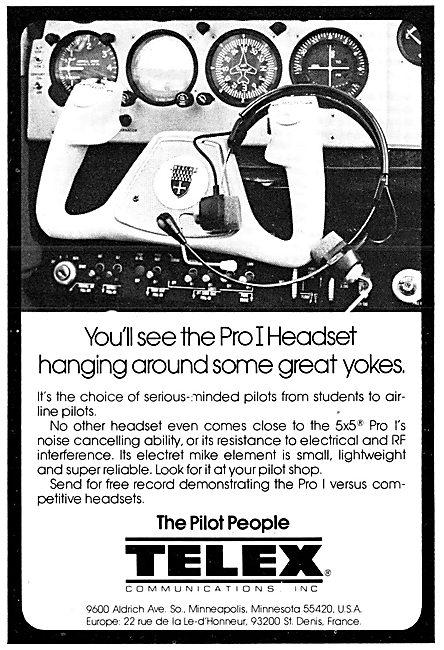 Telex Headsets & Microphones
