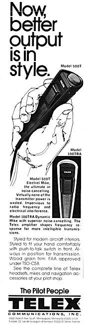 Telex 500 T Hand Mic