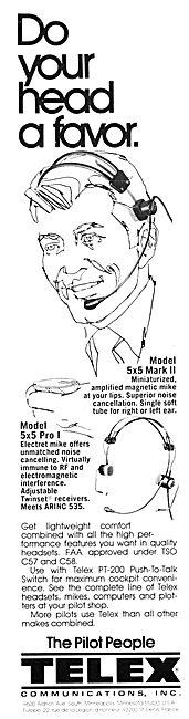 Telex 5 x 5 Mark II Headset