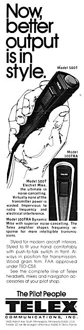 Telex Model 500T Hand-Held Microphone