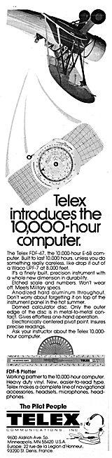 Telex FD-47 E-68 Navigation Computer