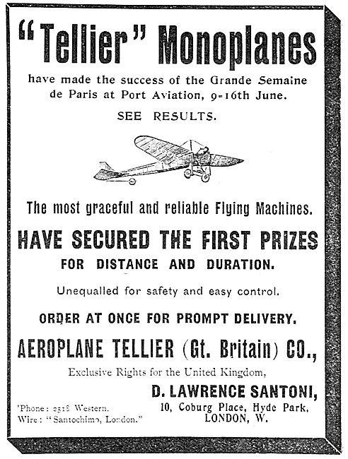 Tellier Monoplanes