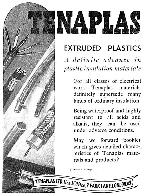 Tenaplas Extruded Plastics For The Aircraft Industry