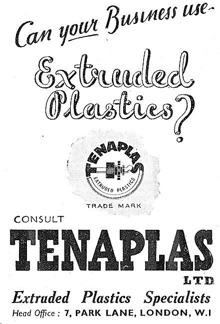 Tenaplas Extruded Plastic - Insulating Sleeves. Tenatube Tenaware