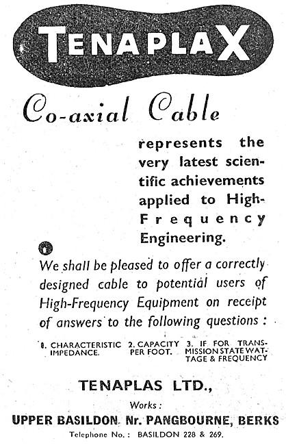 Tenaplas TENAPLAX Co-Axial Cable