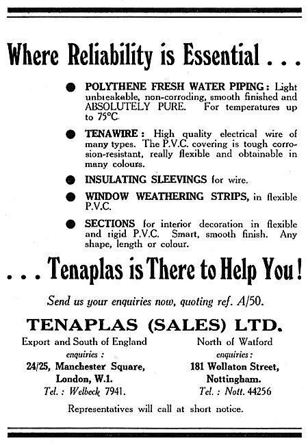 Tenaplas Polythene Piping, Insulating Sleeves & Weather Seals