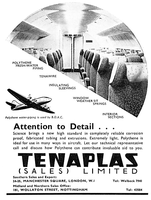Tenaplas Extruded Polythene Piping, Sleeves & Seals