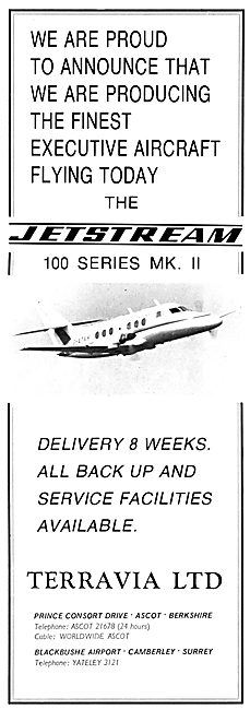 Terravia Ltd - Jetstream 100 Series MK II