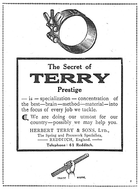 Terry Hose Clips, Springs & Presswork