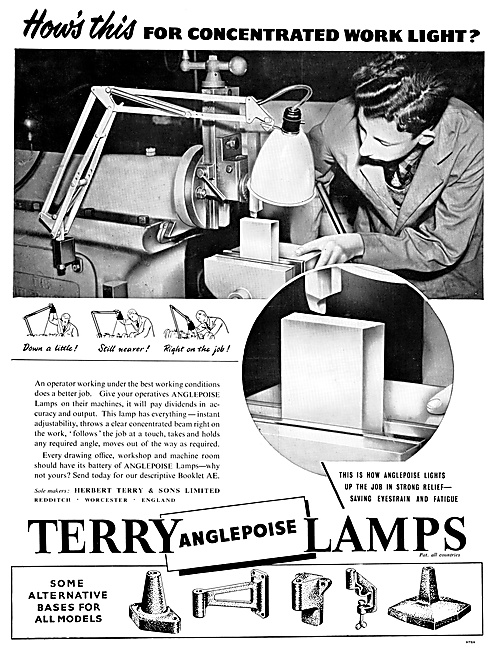 Terry ANGLEPOISE Lamps
