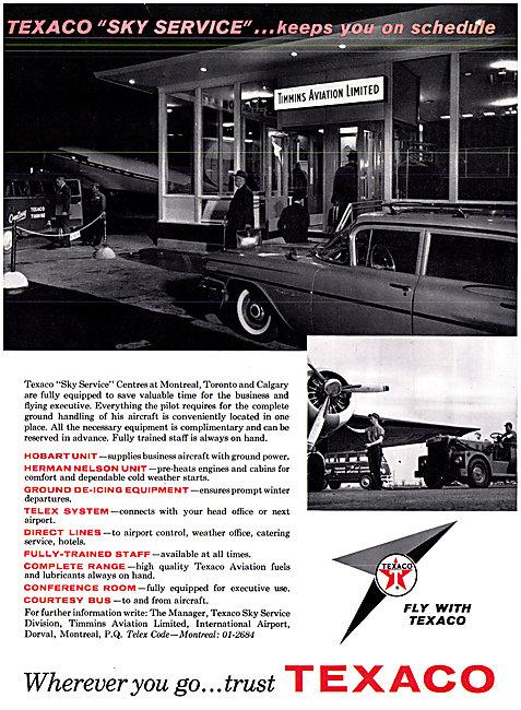 Texaco Aviation Fuels & Lubricants