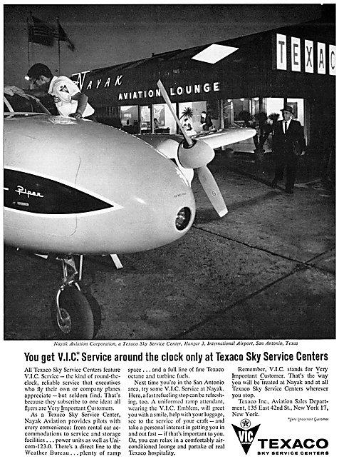 Texaco Aviation Fuels & Lubricants - Texaco Sky Service