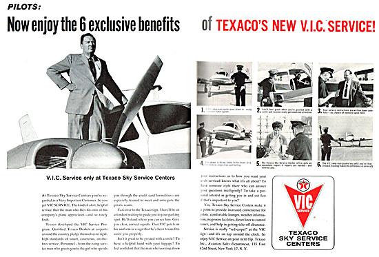 Texaco Aviation Fuels & Lubricants - Texaco Sky Service Centers