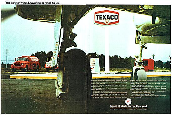 Texaco Aviation Fuels Oils - Texaco Strategic Service Command
