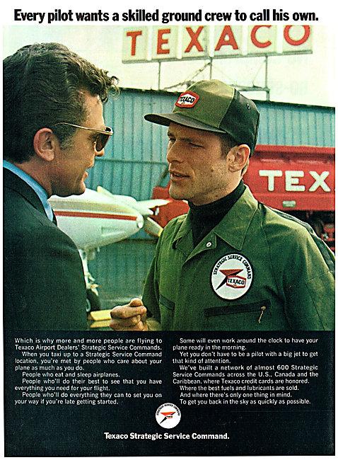 Texaco Aviation Fuels & Oils - Texaco Strategic Service Command