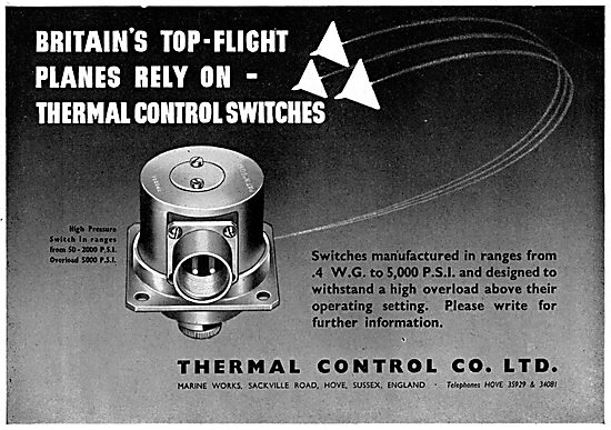 Thermal Control Switches