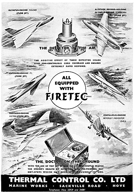 Thermal Control Firetec Re-Setting Fire Detectors