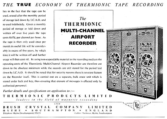 Thermionic Products - Multi-Channel Airport ATC Recorder