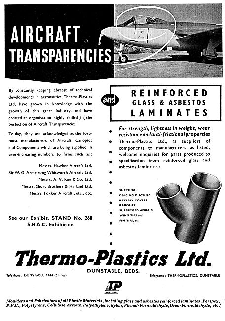 Thermo-Plastics : Aircraft Transparencies