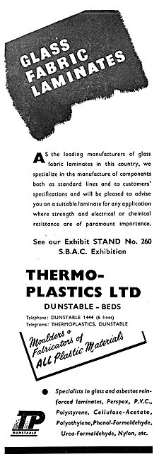 Thermo-Plastics : Fibre Glass Laminates 1955