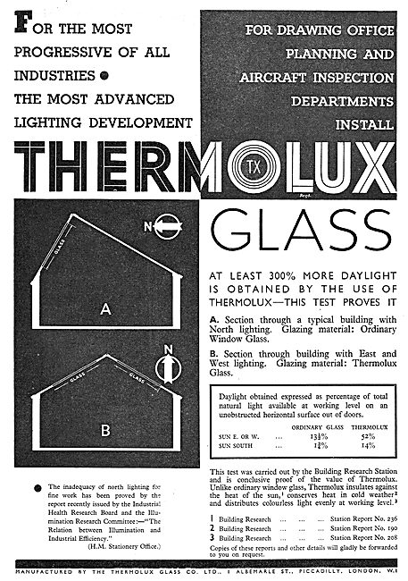 Thermolux Glazing Material For Factories