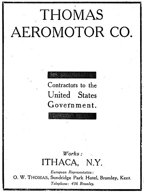 Thomas Aeromotor Co - Ithica