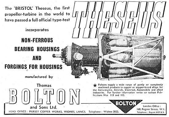 Thomas Bolton Non-Ferrous Forgings & Housings