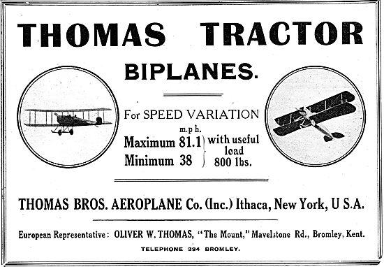 Thomas Tractor Biplanes
