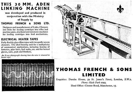 Thomas French 30mm Aden Linking Machine