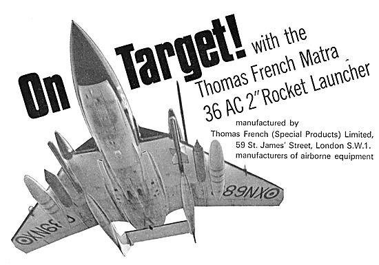 Thomas French MATRA Rocket Launchers 1967