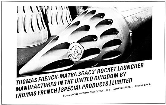 Thomas French MATRA Rocket Launchers