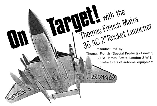 Thomas French MATRA  Aircraft Rocket Launchers