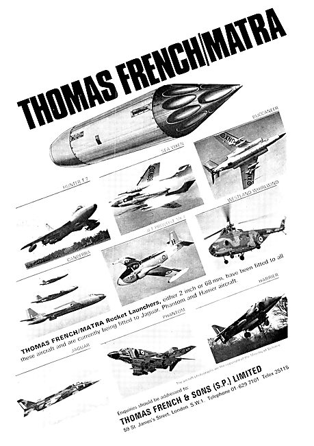 Thomas French Matra Rocket Launcher