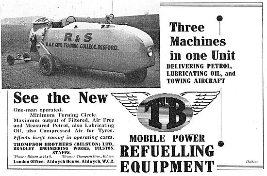 Thompson Brothers 3 in 1 Refuelling & Towing Unit