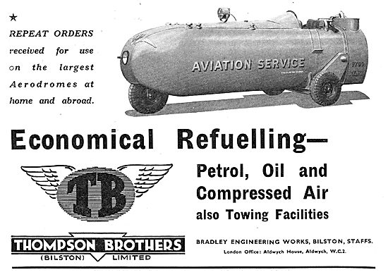 Thompson Brothers Aircraft Refuelling Units