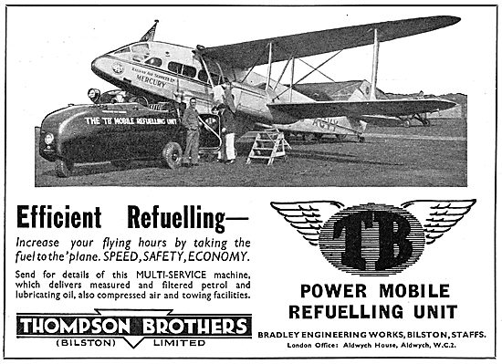 Thompson Brothers Mobile Aircraft Refuelling Unit