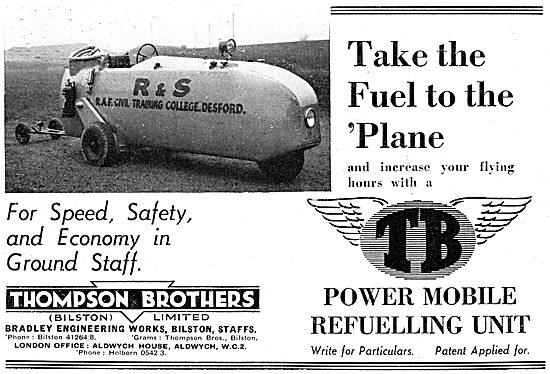 Thompson Brothers - Mobile Refueller. R & S School Desford