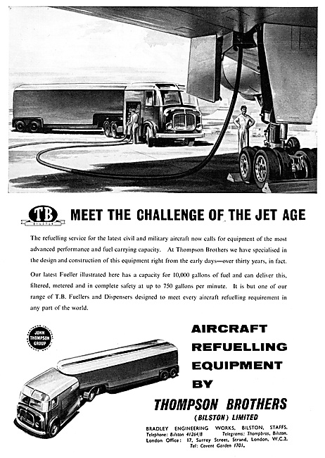 Thompson Brothers Aircraft Refuellers 1959