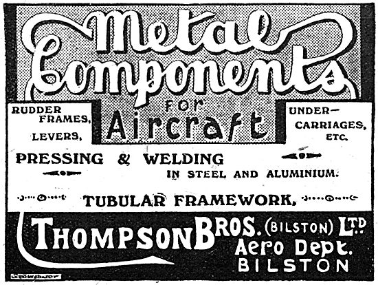 Thompson Brothers - Metal Components For Aircraft