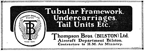 Thompson Brothers - Aircraft Tubular Framework