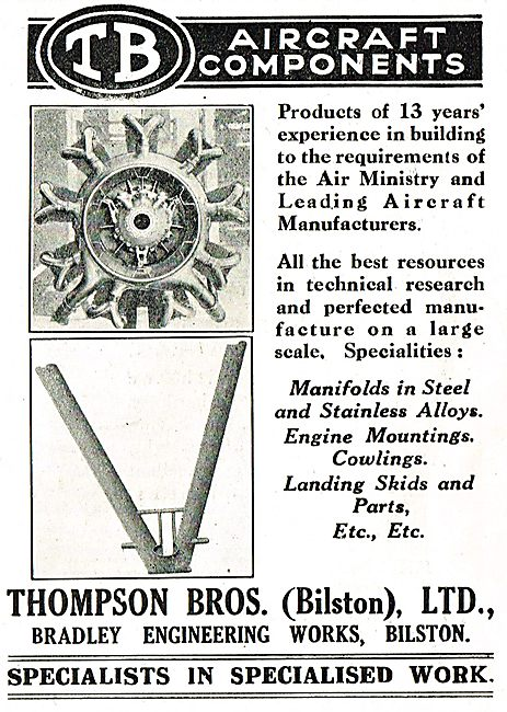 Thompson Brothers Aircraft Components