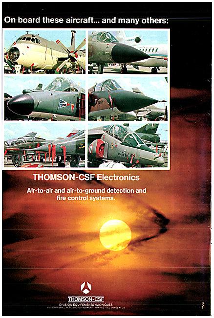 Thomson-CSF Electronics Radar, ATC  & Fire Control Systems