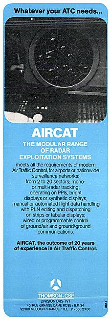 Thomson-CSF AIRCAT ATC Radar