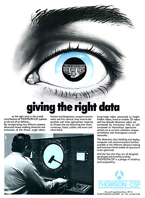 Thomson-CSF Surveillance Radars