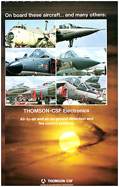 Thomson-CSF Military Fire Control Systems