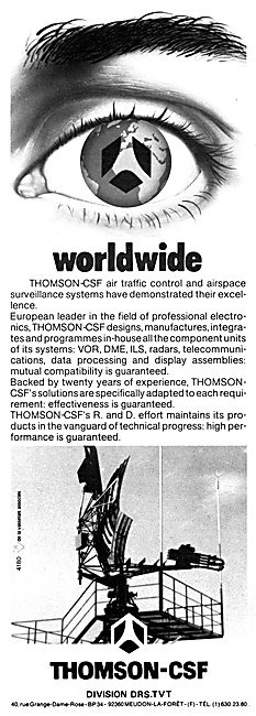 Thomson-CSF ATC Surveillance Radar Systems