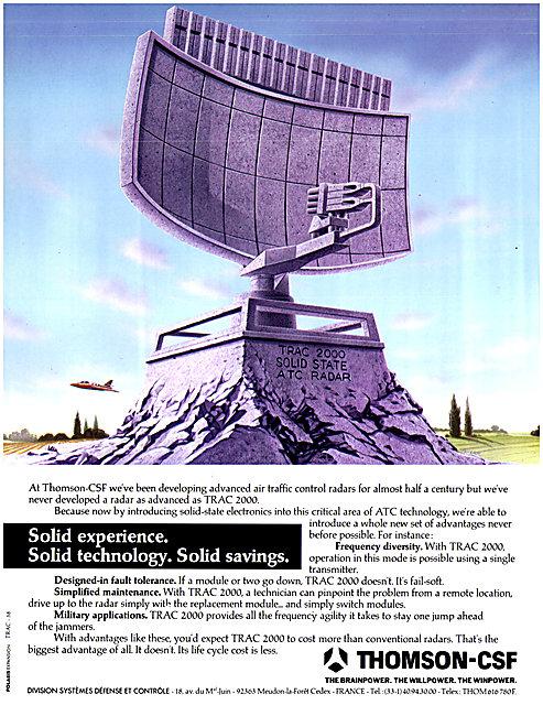 Thomson-CSF TRAC 2000 Radar System