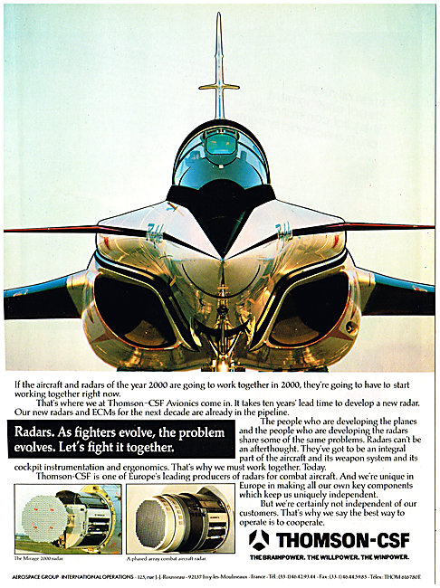Thomson-CSF Military Avionics