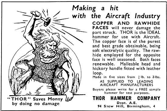 Thor Hammer  Soft Faced Hammers.